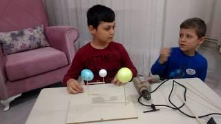 Download Güneş dünya ve ay maketi malzemeler çok kolay temin edilebilir Video