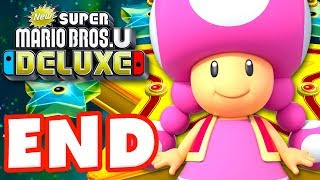 Download New Super Mario Bros U Deluxe - Gameplay Walkthrough Part 9 - Superstar Road 100%! (Nintendo Switch) Video