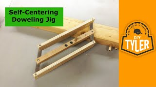 Download How to make a Self Centering Doweling Jig Video