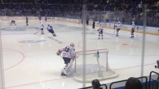 Download Goalie Pavel Francouz stretches before KHL game Video
