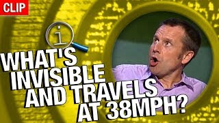 Download QI | What's Invisible And Travels At 38mph? Video