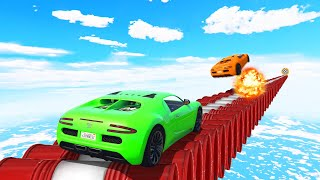Download SURVIVE The EXPLOSIVE TIGHTROPE! (GTA 5 Funny Moments) Video