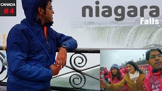 Download Visiting the Canadian side of Niagara Falls in Winter Video