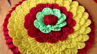Download WOW! Amazing Doormats | How to make doormats using waste clothes - DIY doormats making idea Video