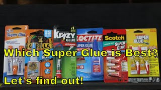 Download Which Super Glue Brand is the Best? Let's find out! Video