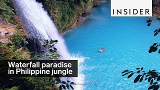 Download This waterfall paradise is hidden in the Philippine jungle Video