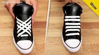 Download 5 formas increíbles de amarrar tus agujetas. Serás la envidia de tu salón Video