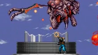 Download Contra Hard Corps Final Boss 3 The Alien Cell + Ending 3 (Perfect, No Power Ups) Video