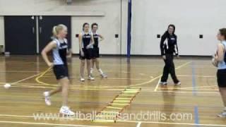 Download Netball Skills and Drills - Level 2 Ladder Drills Video