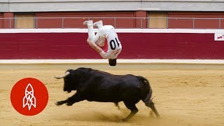 Download The Jaw-Dropping Art of Bull-Leaping Video