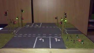 Download Ampelsteuerung - Modellkreuzung Video