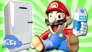 Download SMG4: Mario Goes to the Fridge to Get a Glass Of Milk Video