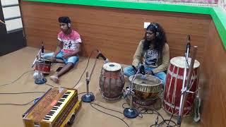 Download Radhe bhai ra nua baja in studio track recording Video