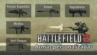 Download Como Colocar Armas Personalizadas no Batllefield 2 Video