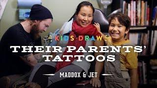 Download Maddox Designs a Tattoo for His Mom | Kids Draw | Cut Video