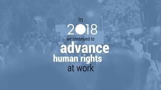 Download Advancing human rights at work - A look back at 2018 Video