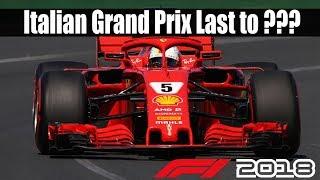 Download Sebastian Vettel Last To ?? @Italy | F1 2018 Game Challenge Video