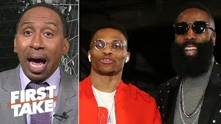 Download Westbook-Harden can rival any dynamic duo in the NBA – Stephen A. | First Take Video