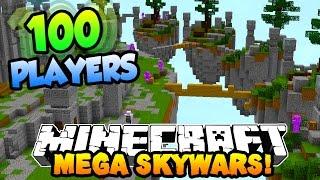 Download Minecraft MEGA SKYWARS ″100 PLAYER BATTLES″ #1 w/PrestonPlayz & Kenny Video