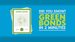 Download Did You Know? Green Bonds in 2 Minutes Video