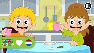 Download Op De Tafel | Kinderliedjes | Peuterliedjes | Kleuterliedjes | Minidisco Video