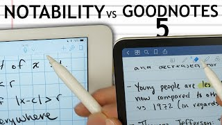 Download GoodNotes 5 vs Notability! Ultimate iPad Note Experience? Video