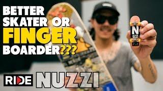 Download Spencer Nuzzi...Better SKATEboarder or FINGERboarder??? Video