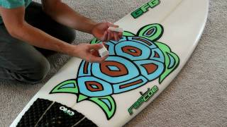 Download How to Wax a Surfboard Perfectly in a Few Minutes Video