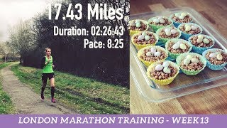 Download London Marathon Training - Week 13 of 16 - Taper Begins, Post Run Stretches & The End of Lent Video