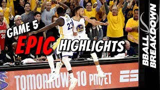 Download 2017 NBA Finals Game 5 EPIC Highlights: Warriors Win The Title Video