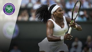 Download Serena Williams vs Heather Watson: Wimbledon third round 2015 (Extended Highlights) Video