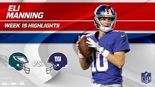 Download Eli Manning Highlights   Eagles vs. Giants   NFL Wk 15 Player Highlights Video