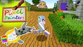 Download Minecraft Pixel Painters & Super Paint Ball Cookieswirlc Let's Play Online Game Video Video