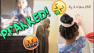 Download EXTREME Poop Prank By 4 Year Old On Momma (SHE GOT MAD) #Mimi'sRevenge Video