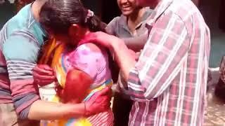 Download Holi masti    bhabi aur devar ki Holi    bhabi ki putai Video