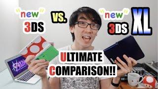 Download NEW 3DS vs. NEW 3DS XL - Ultimate Comparison! Video