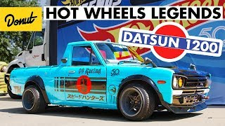 Download Radical Datsun 1200 wins in Dallas at Hot Wheels Legends Tour | Donut Media Video