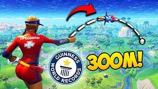 Download *WORLD RECORD* NEW LONGEST GRENADE KILL! - Fortnite Funny Fails and WTF Moments! #331 Video