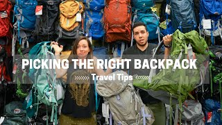 Download How to Pick the Right Travel Backpack Video