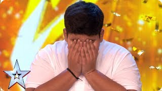 Download INCREDIBLE Akshat Singh dances his way to Ant & Dec's GOLDEN BUZZER | Auditions | BGT 2019 Video