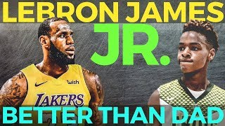 Download Lebron James Jr: Astig na Maglaro Mas Magaling pa Yata kay Daddy Lebron! Video