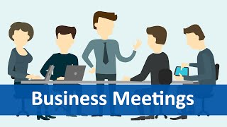 Download Common Expressions #6 (Business Meetings) | English Listening & Speaking Practice Video