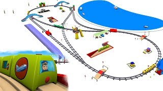 Download chu chu train - trains for children - Train for kids - Toy Trains - Kids Railway - Toy Factory Video