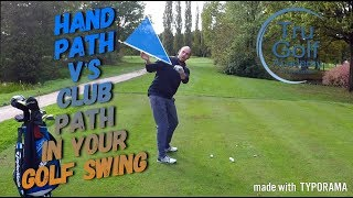 Download HAND PATH V's CLUB PATH IN YOUR GOLF SWING Video