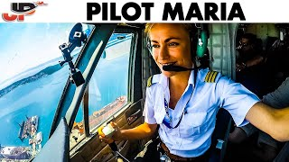 Download Seaplane PILOT MARIA Water Landing in Croatia Video