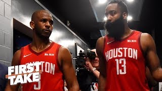 Download Don't blame James Harden for Chris Paul's bad season – Ryan Hollins | First Take Video