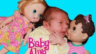 Download Baby Alive Meet New Baby BOY Newborn AllToyCollector Video