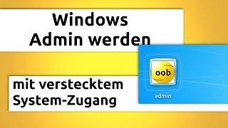 Download Windows Admin werden (in 2 Minuten) ohne Passwort Video