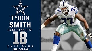 Download #18: Tyron Smith (OT, Cowboys) | Top 100 Players of 2017 | NFL Video