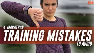 Download 4 Marathon Training Mistakes To Avoid Video